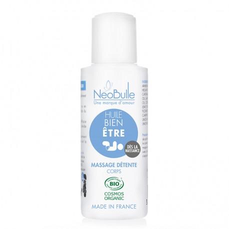 Une huile de massage bio pour bébé