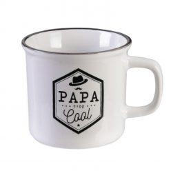 Mug céramique vintage : Papa trop cool