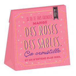 Roses des sables insolentes au chocolat