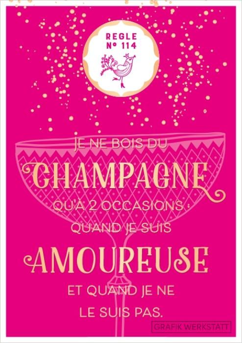 Je ne bois du champagne qu a 2 occasions