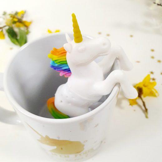 Infuseur à thé Licorne arc-en-ciel