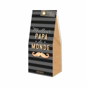 """Lentilles en chocolat : """"Meilleur Papa du monde"""""""