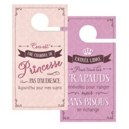 Cintre de porte double face princesse