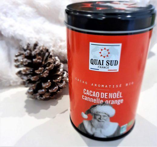 Cacao de noël à l'orange et la cannelle