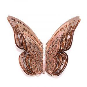 papillon rose gold