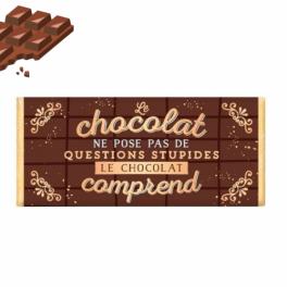 Le chocolat ne pose pas de questions stupides...