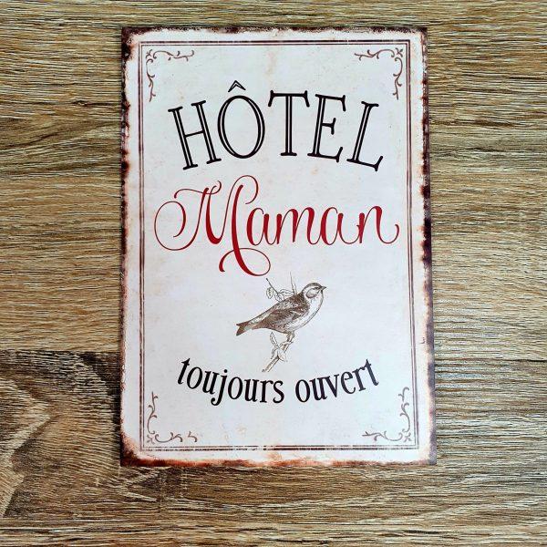 Carte Hotel maman