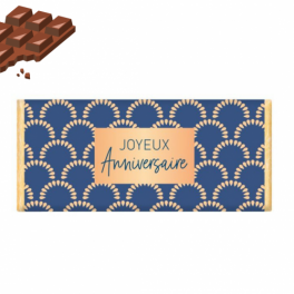 "Chocolat ""Joyeux Anniversaire"""
