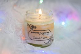 Bougie Bubbles and Candles - Cannelle Vanille