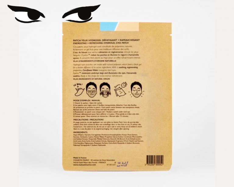 patch yeux hydrogel