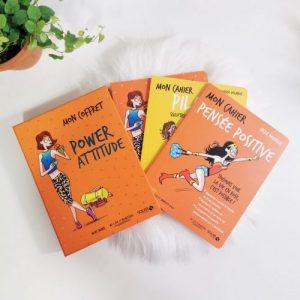 Mon Coffret Power Attitude avec 3 livres