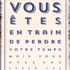Carte Humoristique pour Myope