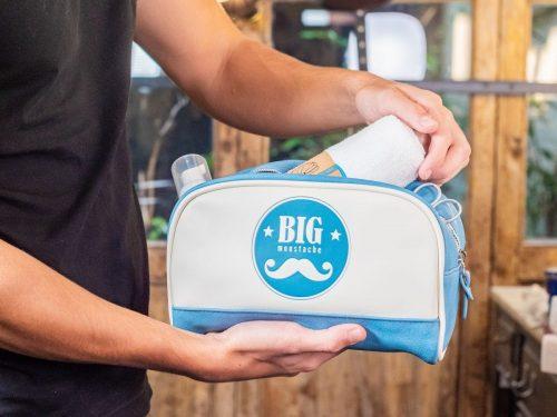 Big moustache ---